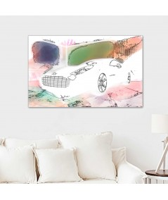 Obrazy samochody na ścianę Aston art obraz plakat
