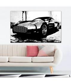 Dekoracja do salonu Obrazy z samochodami Aston Bonda