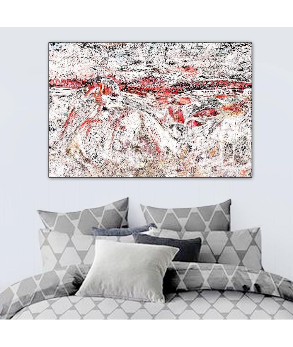 Obraz na ścianę Góry dzikie (1-częściowy) szeroki