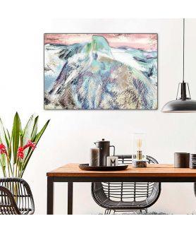 Obraz na płótnie Góry zimą obraz Góra