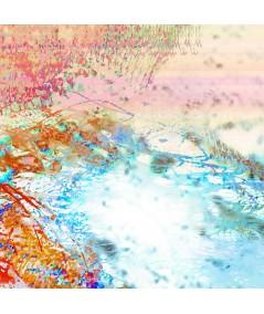 Nowoczesny obraz plakat Obraz Fala