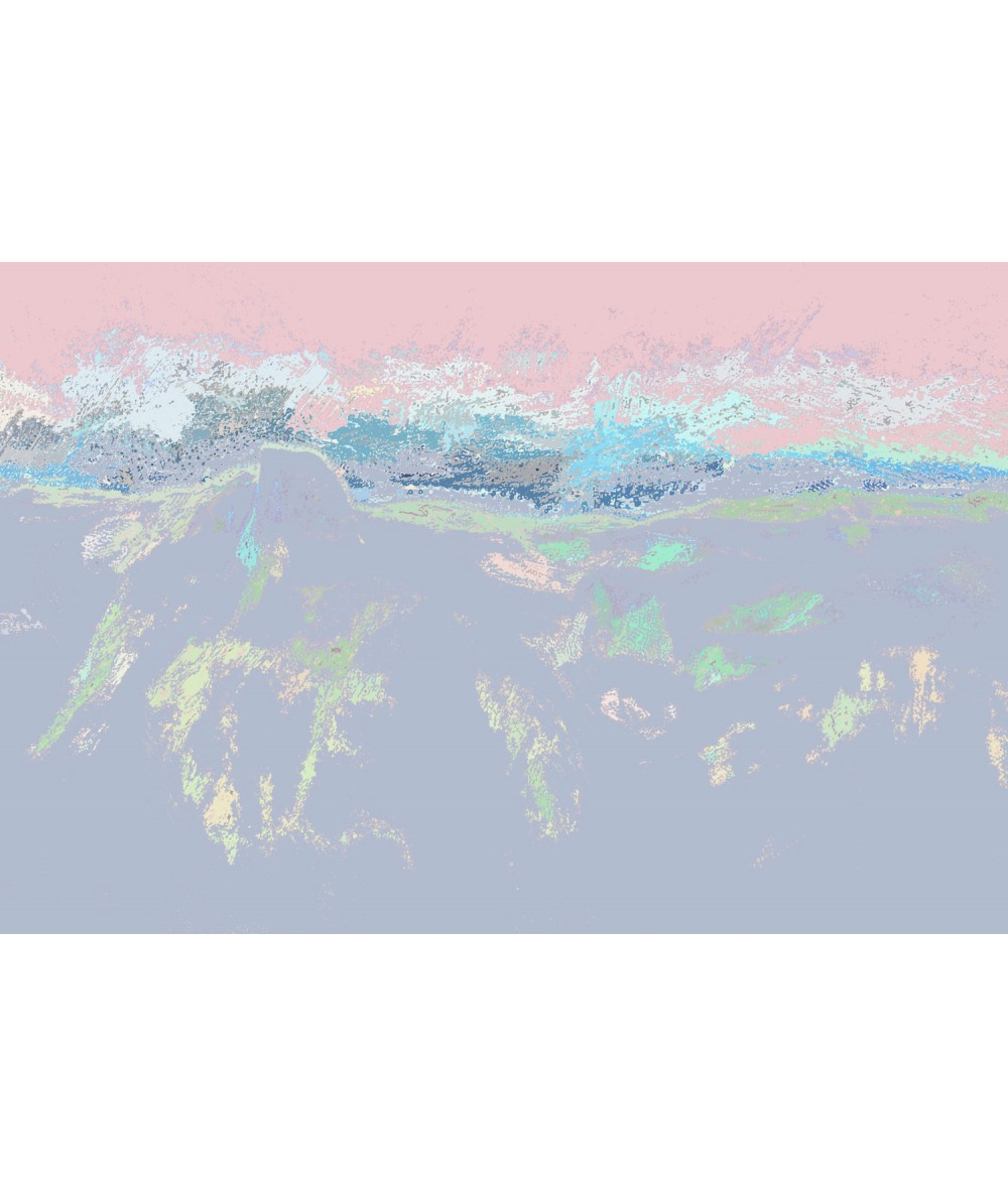 Nowoczesny obraz plakat Obraz pastelowy Barwa dnia
