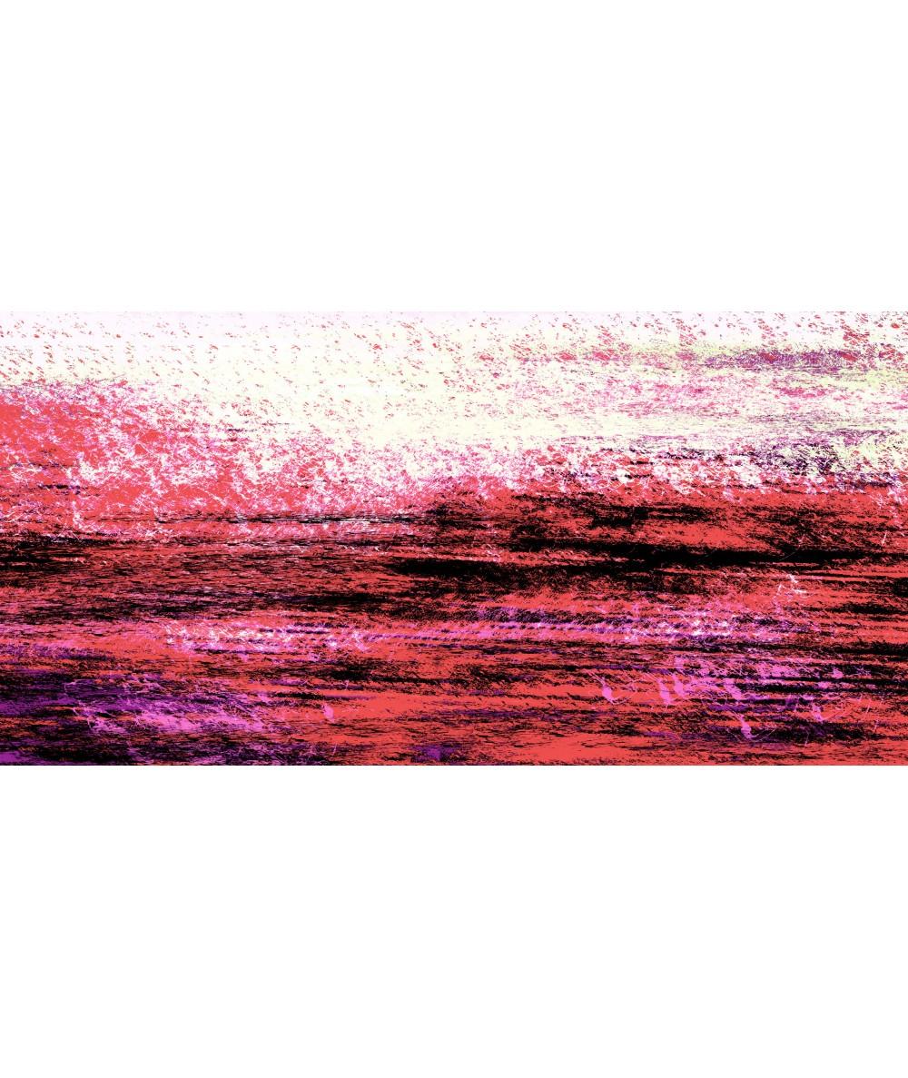 Kolorowy krajobraz Gorąca woda obraz plakat