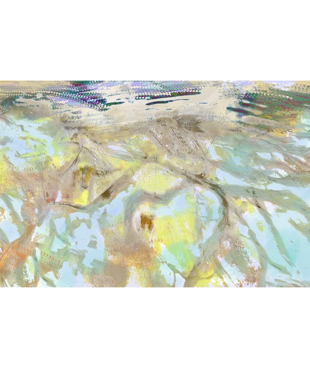 Obraz stonowany Korzenie w wodzie (1-częściowy) szeroki
