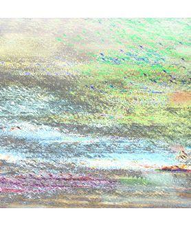 Obraz na płótnie Grafika na ścianę Niebo w moim jeziorze