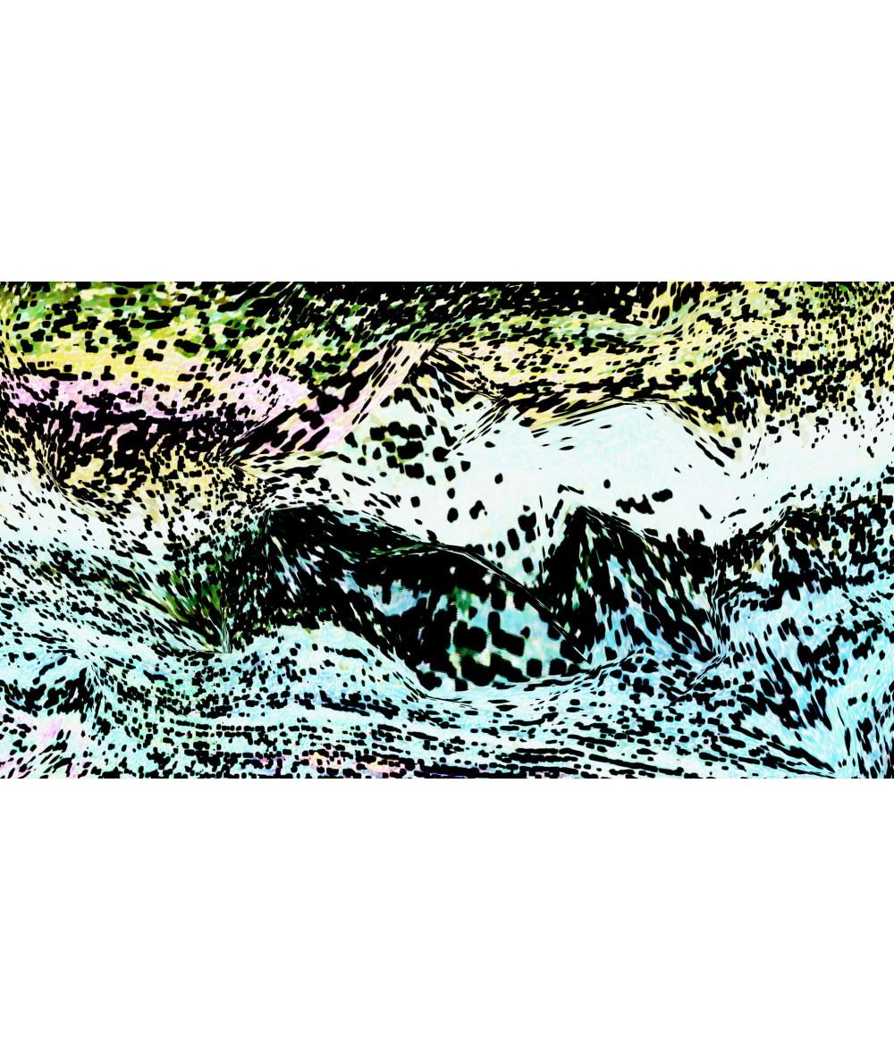 Nowoczesny obraz plakat Obraz noc Morskie fale