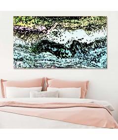Obraz noc Morskie fale obraz plakat