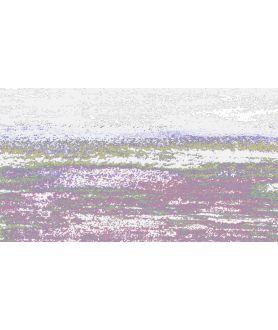 Obraz zachód słońca Grafika fali obraz plakat