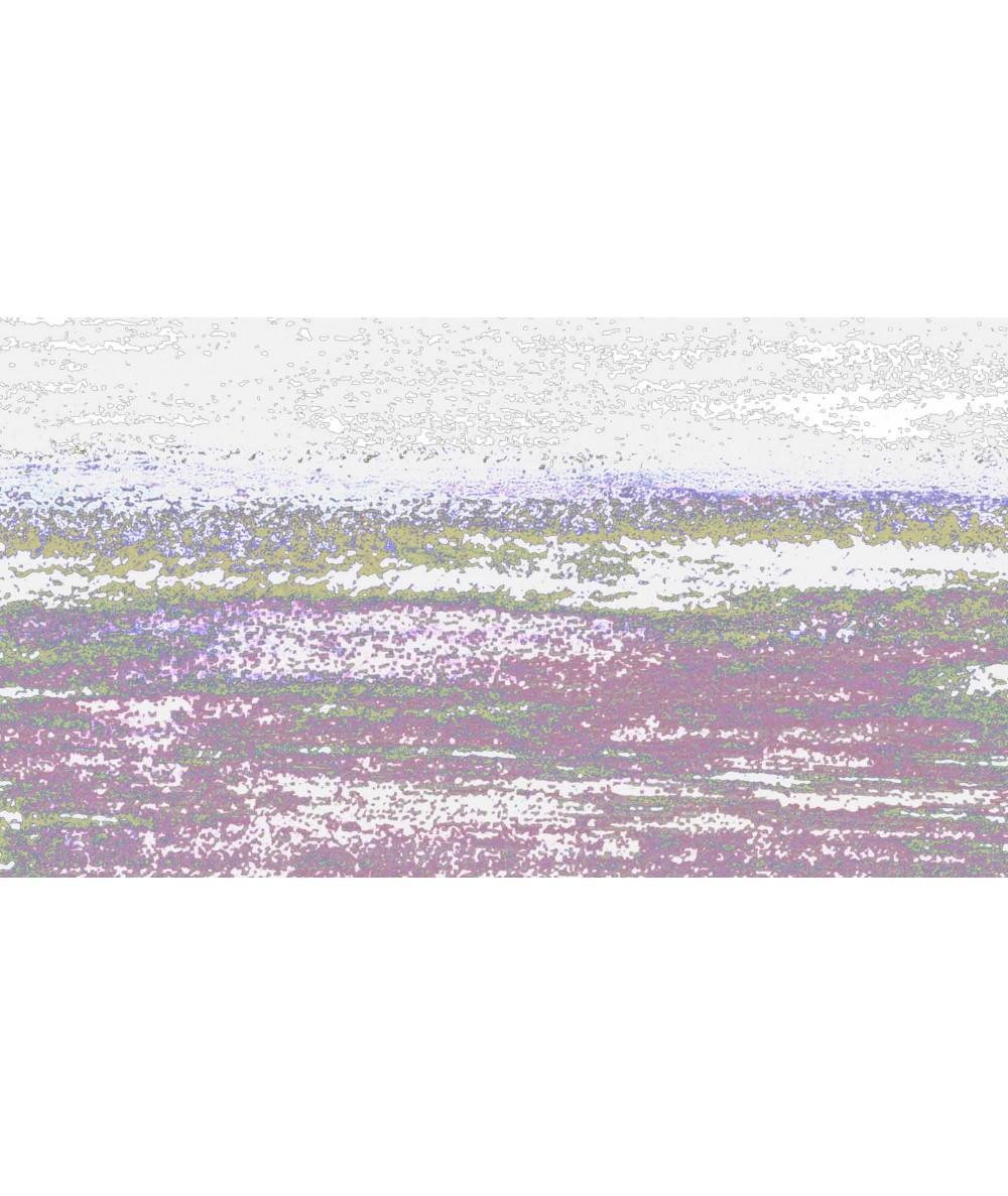 Obraz na płótnie Obraz zachód słońca Grafika fali