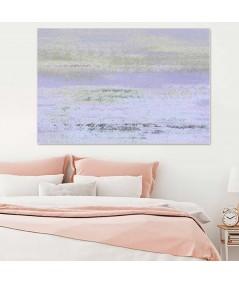 Obrazy pejzaże - Obraz fioletowy Poranek (1-częściowy) szeroki