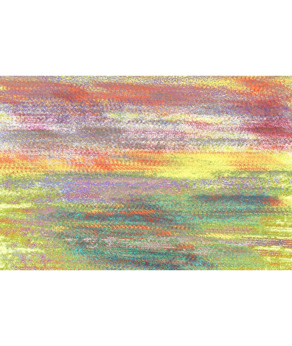 Obraz kolorowy pejzaż na płótnie Jesień