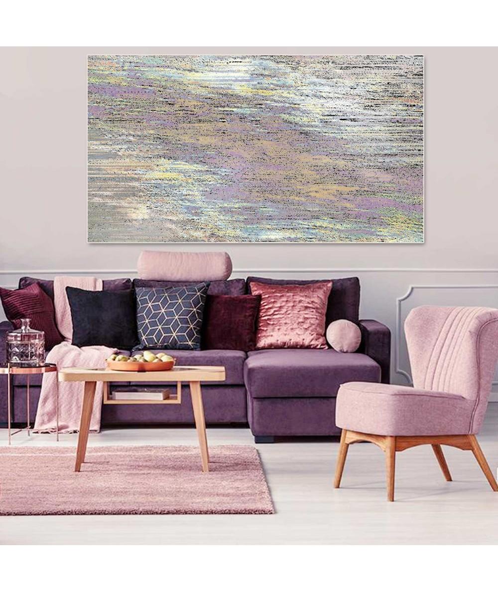 Obrazy abstrakcyjne - Obraz na ścianę z pejzażem Krajobraz morski
