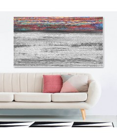 Morski pejzaż Linia horyzontu obraz plakat