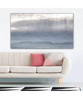 Obraz nowoczesny na płótnie Jezioro (1-częściowy) szeroki