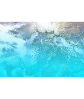 Obraz na płótnie Obraz w kolorze turkusowym Tropikalna wyspa