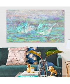Obrazy pejzaże - Morskie skarby obraz Muszle morskie