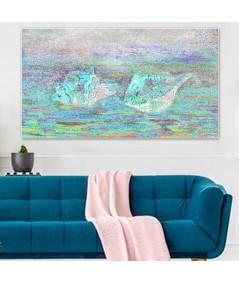 Morskie skarby obraz Muszle morskie obraz plakat