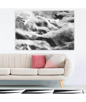 Obraz na płótnie Pejzaż czarno biały Natura