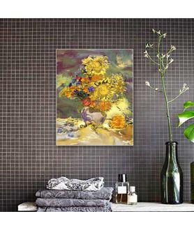 Impresja słoneczniki obraz plakat