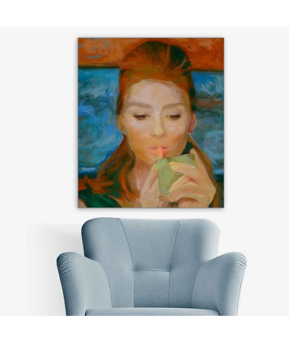 Obrazy Audrey Hepburn - Obraz Audrey Hepburn Śniadanie u Tiffany'ego (1-częściowy) pionowy