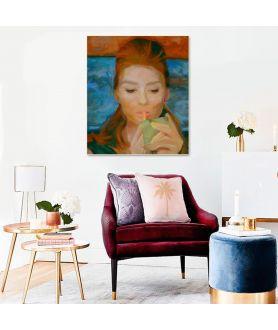 Audrey Hepburn Śniadanie u Tiffany'ego obraz plakat