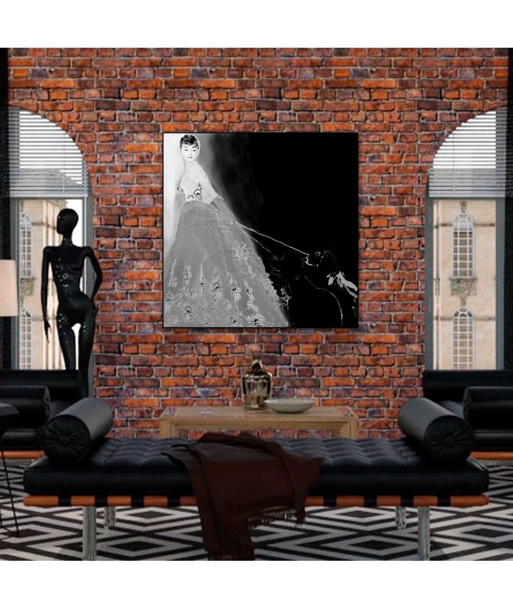 Obrazy Audrey Hepburn - Obraz na ścianę Sabrina (1-częściowy) kwadrat