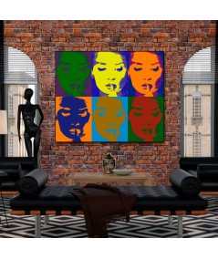 Obraz plakat współczesny Hepburn Audrey