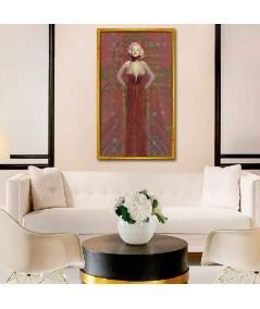 Obraz plakat współczesny Suknia Marilyn Monroe no. 2