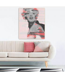 Obraz na płótnie Obraz grafika Gwiazda Hollywood (1-częściowy) pionowy