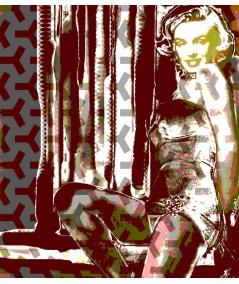 Obraz na ścianę Marilyn (1-częściowy) pionowy