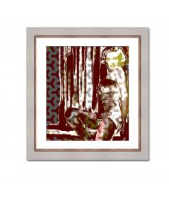 Obraz na płótnie Obraz na ścianę Marilyn (1-częściowy) pionowy