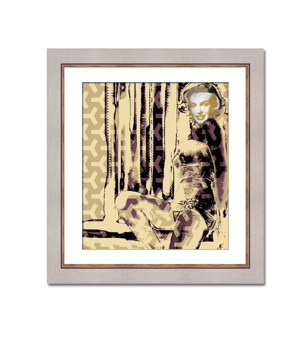 Obraz Marilyn no. 2 (1-częściowy) pionowy