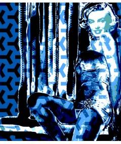 Obraz na płótnie Obraz Marilyn no. 3 (1-częściowy) pionowy