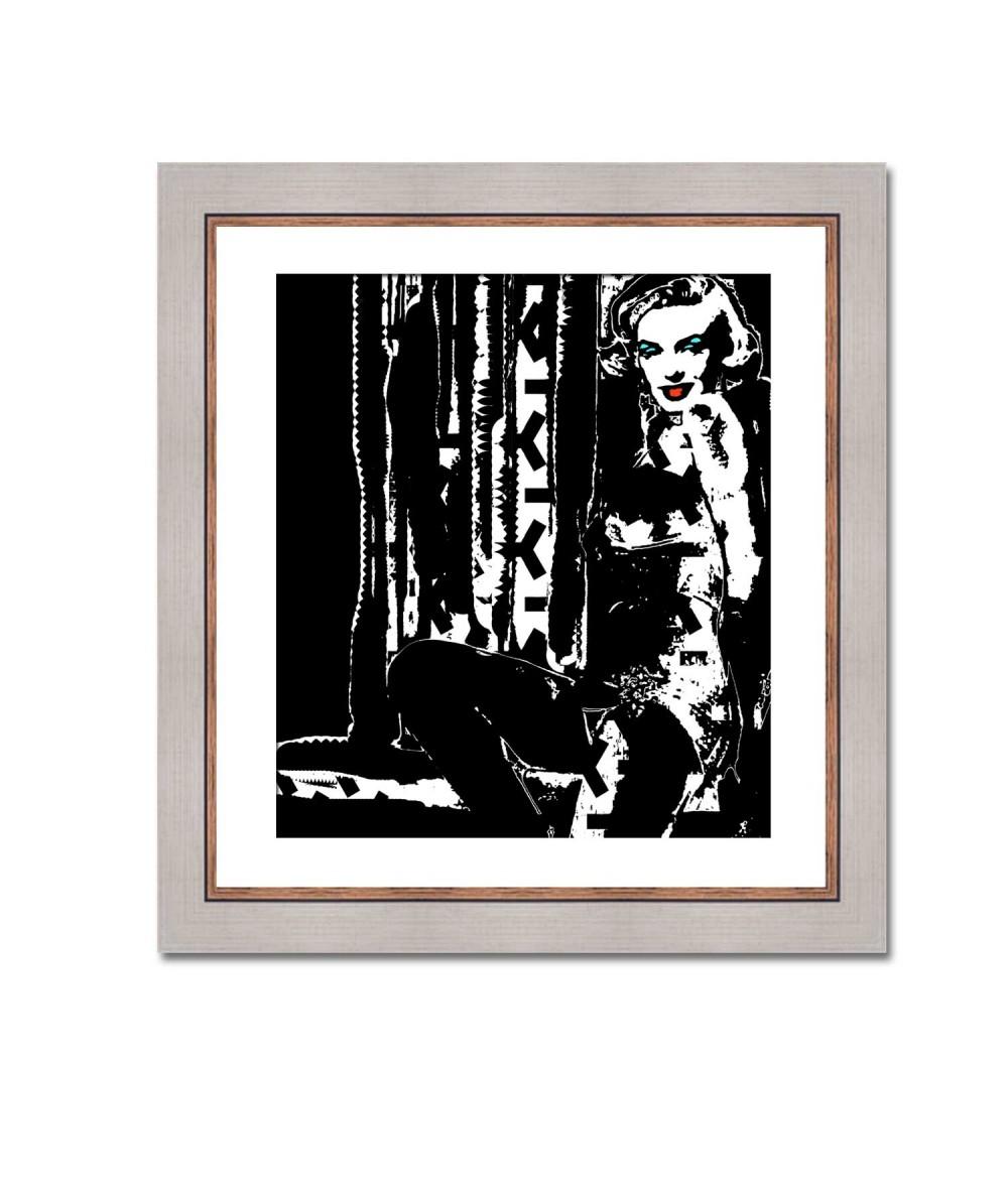 Obraz Marilyn no. 4 (1-częściowy) pionowy