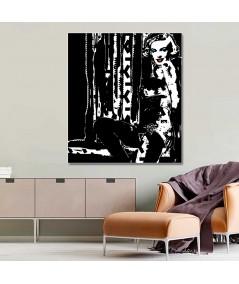 Obraz na płótnie Obraz Marilyn no. 4 (1-częściowy) pionowy
