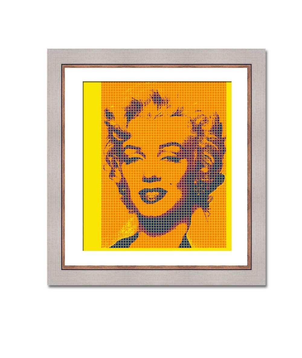 Obraz nowoczesny Pop art Monroe (1-częściowy) pionowy