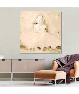 Obraz na płótnie Obraz na płótnie Marilyn Monroe baletnica glamour