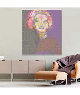 Obraz plakat współczesny Portret Monroe