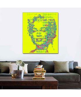 Obraz plakat współczesny Monroe pop art