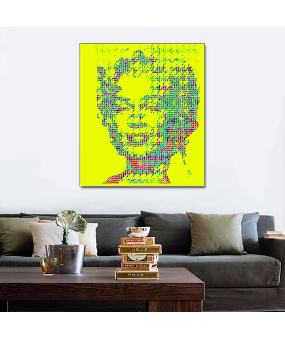 Obraz grafika pop art Monroe pop art (1-częściowy) pionowy