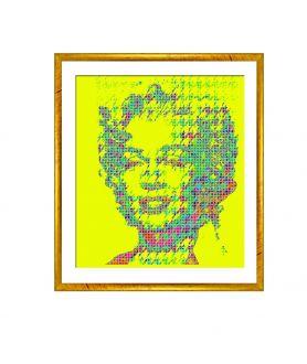 Obraz na płótnie Obrazy pop art Monroe pop art, grafika pop art