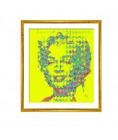 Obraz na płótnie Obraz grafika pop art Monroe pop art (1-częściowy) pionowy