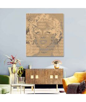 Monroe i Channel old gold obraz plakat