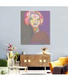 Obraz z merlin monroe Portret Monroe (1-częściowy) pionowy