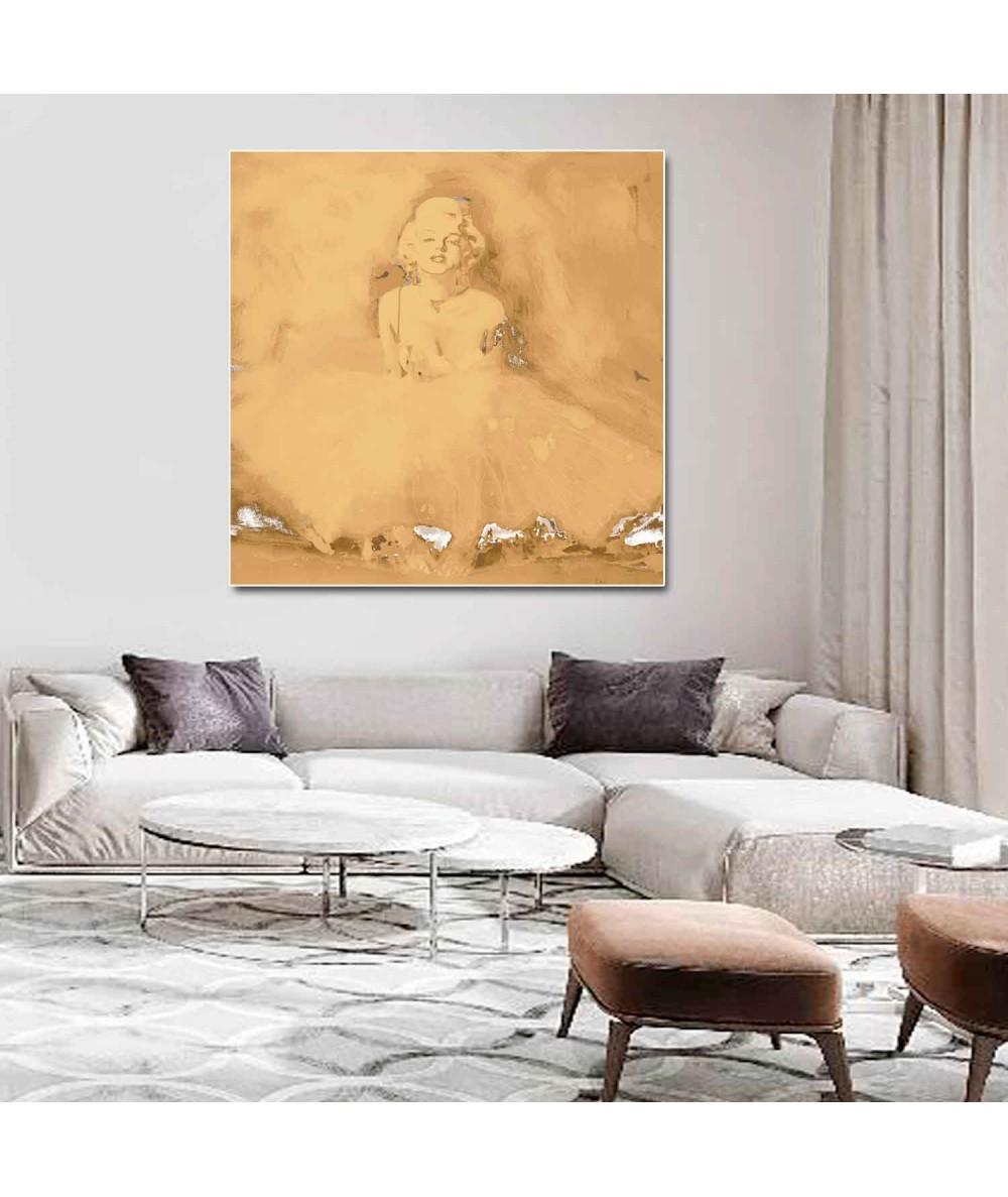 Obraz baletnica na ścianę Marilyn Monroe baletnica retro