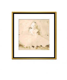 Obraz na płótnie Marilyn Monroe baletnica glamour