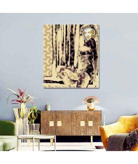 Obraz na płótnie Obraz Marilyn no. 2 (1-częściowy) pionowy
