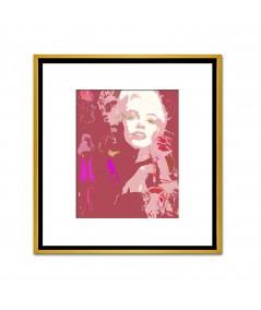 Obraz plakat współczesny Choo i Monroe