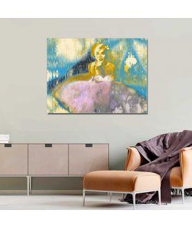 Obraz na płótnie Marilyn Monroe ballerina