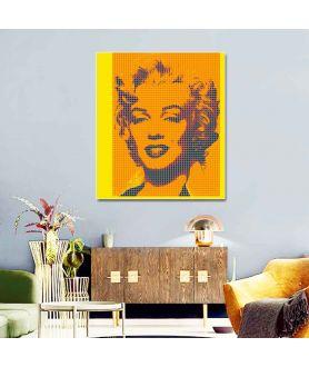 Obraz na płótnie Obraz nowoczesny Pop art Monroe (1-częściowy) pionowy
